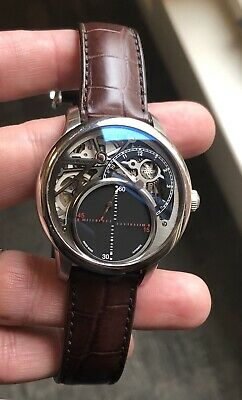 Maurice Lacroix Masterpiece MP6558 Mysterious Seconds Automatic  76 Of 250  made 0c1113e8ae