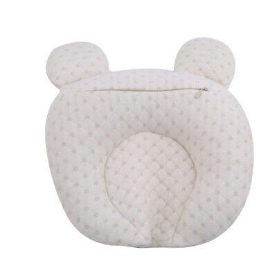 Newborn Baby Cotton Pillow Positioner Prevent Flat Head Anti Roll Supplies N7