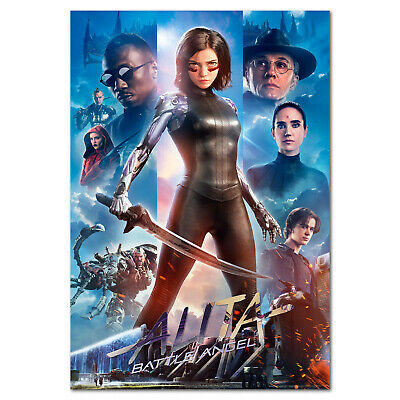 Alita Battle Angel Movie Poster - Exclusive Art - High Quality Prints