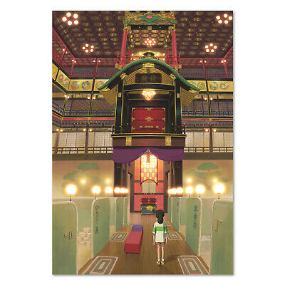 Spirited Away Poster - Studio Ghibli Exclusive Art - High Quality Prints