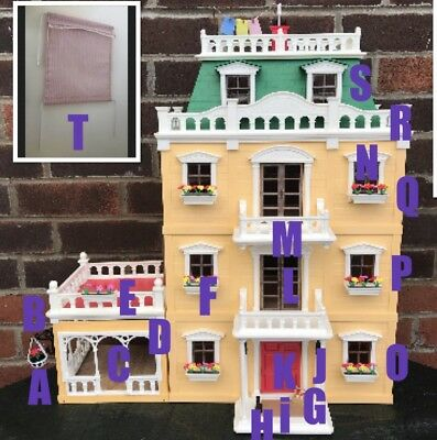 Sylvanian Families Spare Deluxe Country Mansion House Accessories Calico Critter