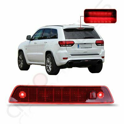 Red Lens For 2005-2010 Jeep Grand Cherokee Third 3rd Brake light LED Signal Lamp