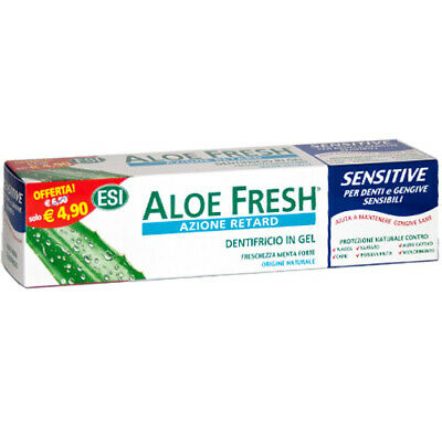 ESI Dentifricio Aloe fresh Sensitive 100ml