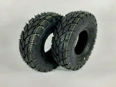 Pair of (4.00-5) 4ply tyres for Multi turf grass - lawn mower 400x5 lawnmower