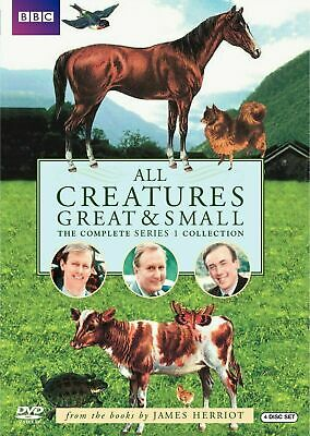 All Creatures Great & Small: The Complete Series 1[DVD] New and Factory Sealed!!