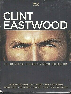 CLINT EASTWOOD: The Universal Pictures 7-Movie Collection (Blu-ray Disc 2015) F1