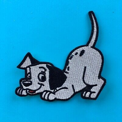 Disney 101 Dalmatians Puppy Dog  Embroidered Appliqué Patch Sew / Iron