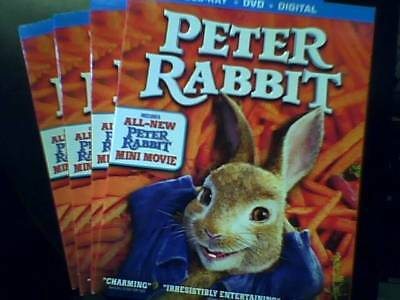 Peter Rabbit (Blu-ray Only) Opened-Unwatched