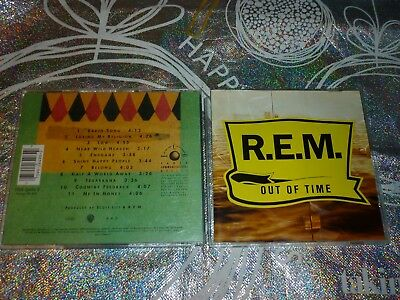 R.e.m. Out Of Time (Cd, 11 Tracks, 1991) (134929 A)