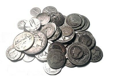 1/2 Troy Ounce 90% Silver Cull US Coins | Free Shipping on 3+ Items