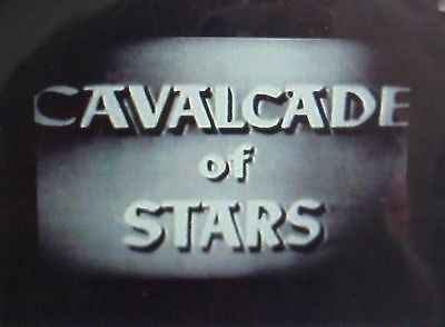 RARE DVD SET = DUMONT CAVALCADE OF STARS w/case  (NOT FROM TV RERUNS)