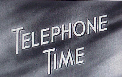 RARE DVD SET = TELEPHONE TIME (Rare 1950s Drama) w/case  (NOT FROM TV RERUNS)