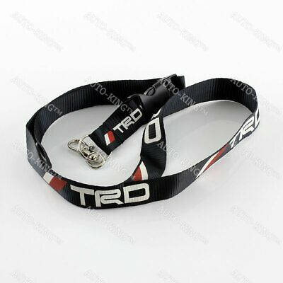 For JDM TRD RACING Keychain Lanyard Quick Release Strap for Toyota Supra AE86