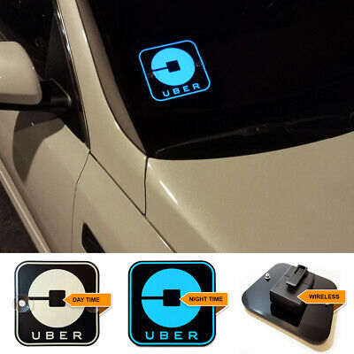 Led Uber Light Sign for Rideshare Uber Drivers Wireless Light up sign