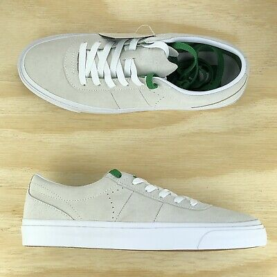 f7039f6c65ff94 Converse One Star CC Pro Ox Cream White Green Casual Skate Shoes 160548C Sz  9.5