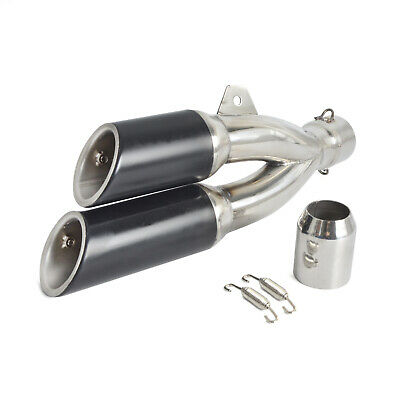 Universal Exhaust Muffler Pipe 38-51mm Motorcycle Dirt Pit Street Bike ATV Quad