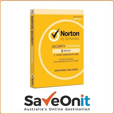 Norton Internet Security Standard 2019 1 device 1 Year Fast Email License Key