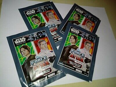 Sobres Rogue One Force Attax Topps Star Wars Carrefour Lote De 4.