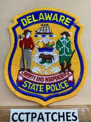 DELAWARE STATE POLICE (Felt) Shoulder Patch
