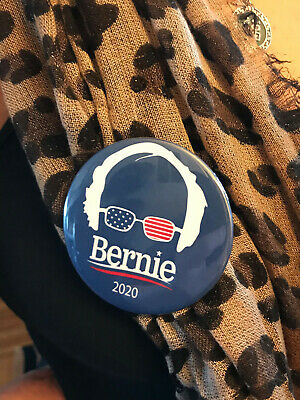Bernie Sanders 2020 - Button Pin 3 inch FREE SHIPPING Revolution Buttons