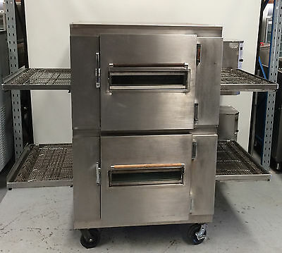 LINCOLN double deck  Conveyor Pizza Oven   MODEL : 1456 & 1457