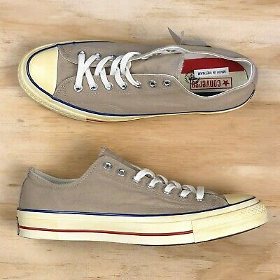 cfe531911296 Converse Chuck Taylor All Star 70 Ox Low Top Vintage Khaki Blue Red 159568C  Size