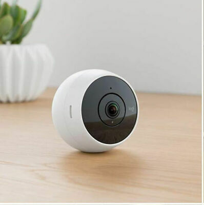 NEW Logitech Circle 2 Wi-Fi Wireless Security Indoor/Outdoor Camera 1080p- White