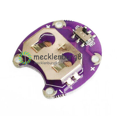 3.5V-9V CR2032 Coin Cell Battery Holder Shell Container Module Board F LilyPad