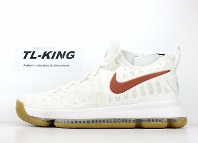 new concept 58b52 8ddb0 Nike Zoom KD 9 Texas Longhorns 899640-110 Msrp  150 DW