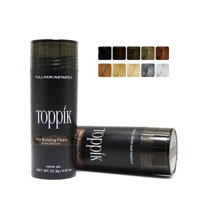 Toppik 27.5g Hair Building Fibers For Thinning Hair Cover Bald Spots Concealer