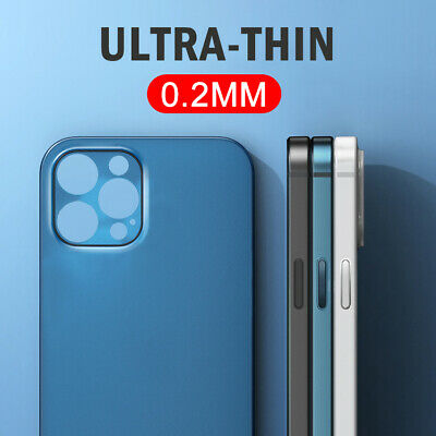 Ultra-thin Matte Clear Hard PC Slim Cover Case For iPhone XS Max X XR 8 7 6 Plus