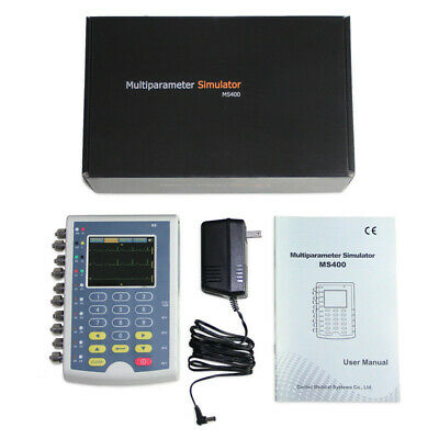2019 Newest MS400 Patient Simulator ECG Patient Simulation Monitor,Touch Screen