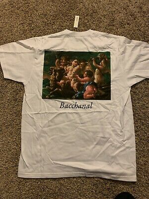 41fa154b9 Supreme Bacchanal T Shirt Tee White Xlarge XL Ss15 2015 Rare New With Tags  NWT