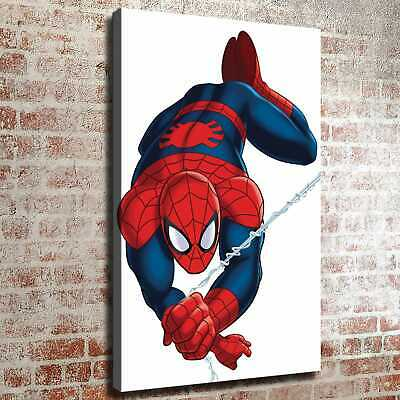 "12""x18""Spiderman Picture HD Canvas print Painting Home decor Wall art wallpaper"