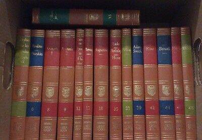 30 Volumes Individually Sold Britannica GREAT BOOKS OF THE WESTERN WORLD 1952