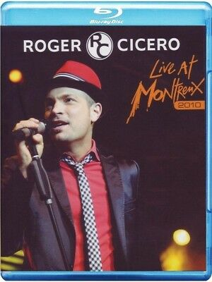 Roger Cicero - Live At Montreux 2010 (Bluray) Eagle Vision  Blu-Ray New
