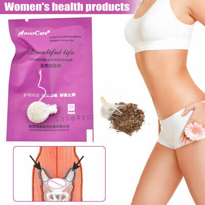 20 Pcs Natural Herbal Womb Yoni Vaginal Cleansing Healing Detox Pearls Tampons