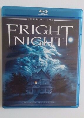 FRIGHT NIGHT~1985 (Blu-ray Disc) Twilight Time: LIMITED Edition of 3,000 *RARE*