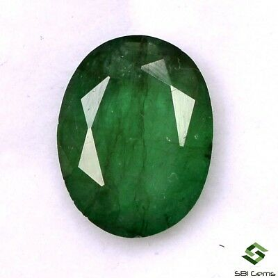 Certified Natural Emerald Oval Cut 11x8.50 mm 2.94 Cts Faceted Loose Gemstone