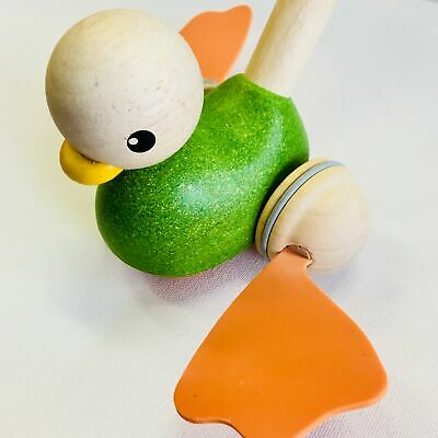 Plan Toys - Push Along Duck Best Selling Products