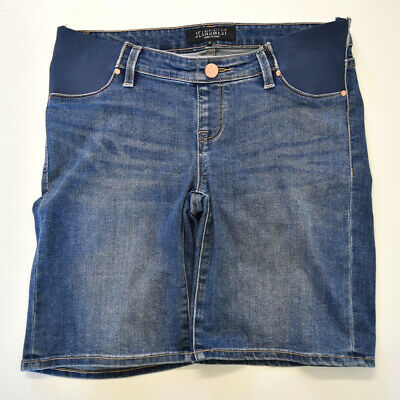 Jeanswest Maternity Blue Denim Shorts Size 10