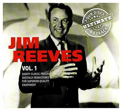 Jim Reeves Vol 1 Ultimate 80 Track collection CD Brand New & Sealed
