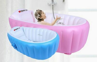 Newborn Baby Bath Basin Safety Inflatable Bathtub Collapsible Air Swimming Pool
