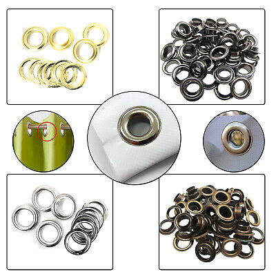 Banners Pool Covers Yoga Mat Tents DIY Brass Eyelets Grommet Washers 14mm - 20mm