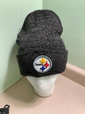 4d0ef97e06fa2 NFL PITTSBURGH STEELERS 47 Brand Knit Hat Brain Freeze Beanie Stocking Cap