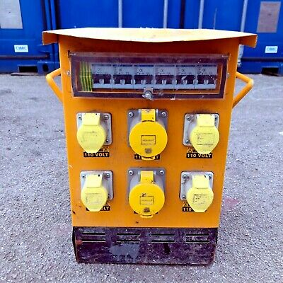 Ultra Small 10 kva 110V Site Transformer Single Phase 2 x 32A 4 x 16A Sockets