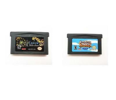 New GBA Game Fire Emblem The Last Promise/ Harvest Moon Friends of Mineral Town
