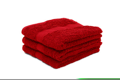 60 X Red Luxury 100% Egyptian Cotton Hairdressing Towels / Salon / 50x85cm