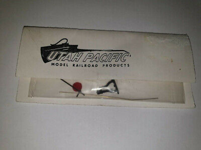 Utah Pacific  SWITCHSTAND PREFINISHED BLACK CASTING WITH RED TARGET H0