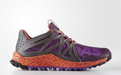 c0052069f NWOB Adidas VIGOR BOUNCE Athletic Trail Runner Shoes Purple Coral Women s  Size 6